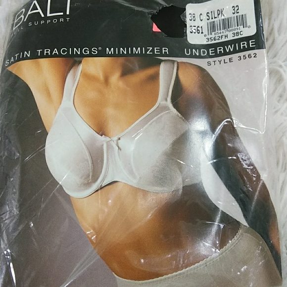full range of specifications elegant appearance various kinds of Bali Full Support Pink Minimizer Bra 38C NWT